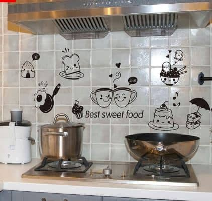 Creative Wall Stickers for Your Kitchen