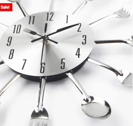Decorative Wall Clocks for Your Kitchen